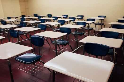 chairs classroom college desks