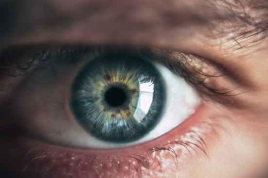 person eye